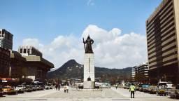 Gwanghwamun, Seoul, South Korea